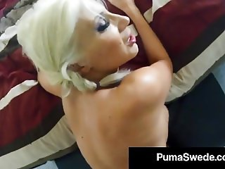 Busty Blonde Puma Swede Does Kinky Voyeur SpyCam Fuck Video!