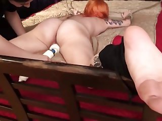 Ass Tickling With Vibrator Play