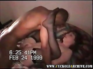 Cuckold Archive BBC bull fucking sissys wife on her BDay