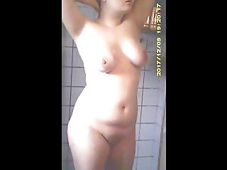 Juicy Plump Babe in Shower - Fixed