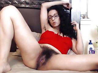 hairy brunette webcam