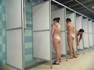 Hidden Cam: Shower Room Part 5