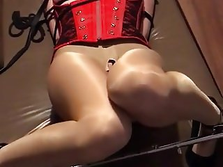 Slave used and slapped