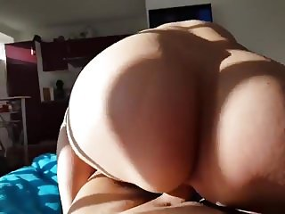 Slut Riding Big Cook