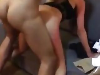 He Fucks His Her While Boyfriend Watch And Jerk