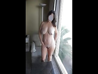 My MILF Wife gets fucked good at Cliff House Inn