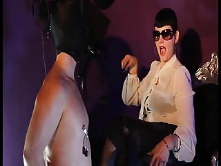 Miss Helen Bates -Nipple play for the slave