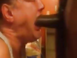 Granny Deepthroat Time 4 (Facefuck, flips cam in end...)
