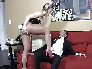 Whore Wife Cuck Hubby BALLBUSTING HJ W CORY CHASE