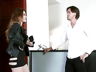 Horny Teen Tricks - Money And A Blowjob Change His Mind