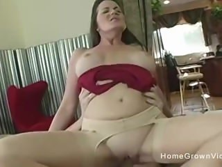 Hot milf fucked in her own homemade porno