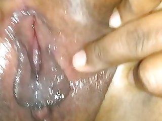 Her Friend opening her pussy and showing to me