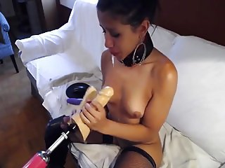 Young women loves to suck...spit...squirt