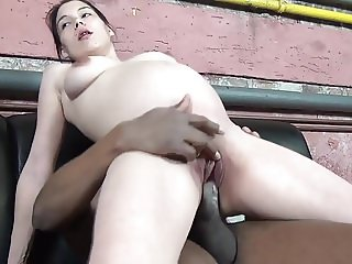 Pregnant pussy is riding his big black cock!