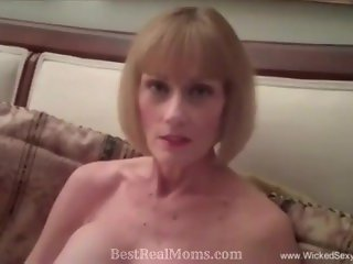 GILF Exchanges Sex For Money