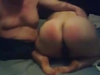Submissive BBW pig spanking n humiliate