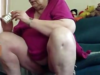 Up his granny's skirt