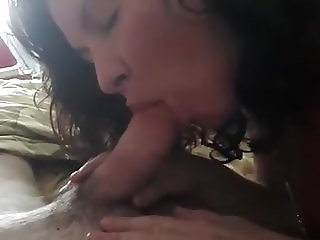 Married Wife Lara give a nice Blowjob