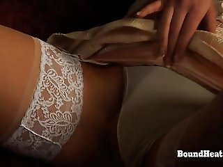 Betrayed Cargo: Mistress And Huntress Playing With Sub Slave