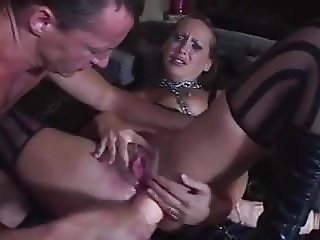Master give her slave all what she need