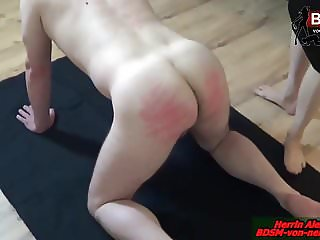 SPANKING EXTREM - Deutsche BDSM Lady Dominant Session