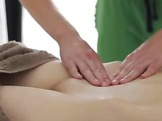 Anal on massage table from Dinfling.org