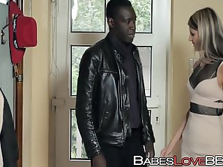 Russian hottie Gina Gerson loves black monster cock