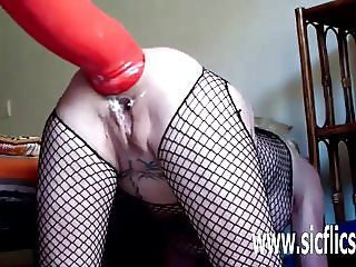 XXL anal fisting and dildo penetrations