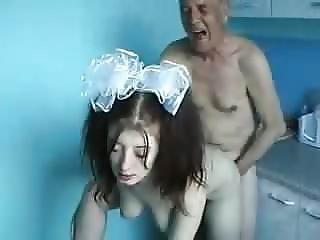 Old Man And Young Girl