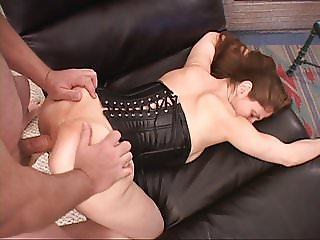 Tiny Little Mature MILF Gets Butt Fucked