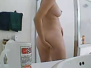 Cutie in the shower 3 of 3