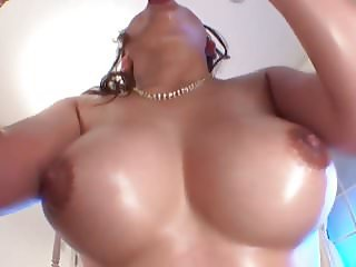 Oiled Busty Japanese Mei Matsumoto