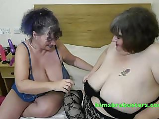 Granny Kim with big girl Ruby