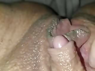 Big clit masturbation
