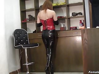 Lady in Latex