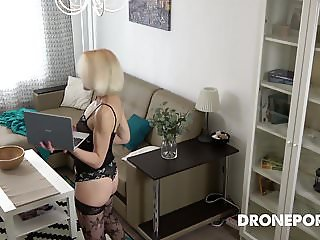 Czech Milf funcking at home - Hidden spy cam