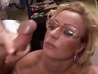 Silvia hot MILF at home