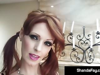 Horny Housewife Shanda Fay Gets Her Juicy Wet Snatch Stuffed