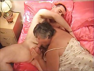Granny sucks and fucks part 1