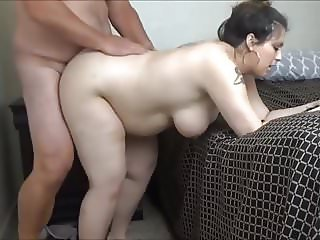 Ana 9 months pregnant creampie