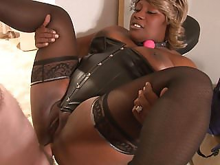 Mature Big Tit Ebony BBW Anal Abused