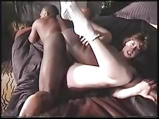 hubby lets the black guy fuck his wife