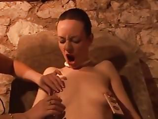 Sexy Skinny Slut gets Destroyed in Bondage Film