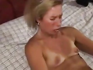 Sexy tanline wife having a multiple orgasms