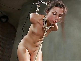 Skinny submissive fuck slut