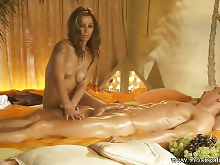Lovely Blonde Perfect Massage From Asia