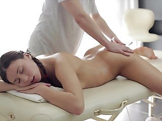 Oil massage & Cock riding for Anata Teen slut Shakti