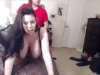 Busty Wife Makes Surprise Cuckold Video For Hubby