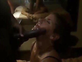 She promised her husband she wouldn't take BBC in her mouth