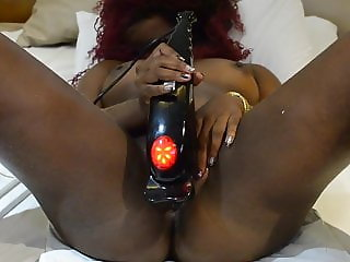 Hot Ebony Masturbating and Squirt, AcompanhantesRJ . com